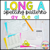 Long Vowel A Worksheets