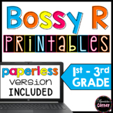 Bossy R Worksheets