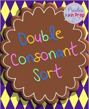 Word sort- double consonants #BTS18