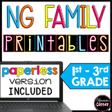 ng families worksheets