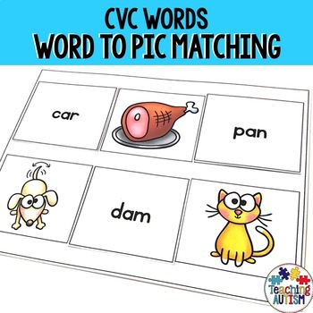 Word to Picture CVC matching