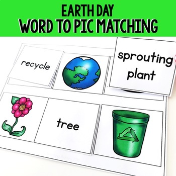 Word Picture Matching: Earth Day