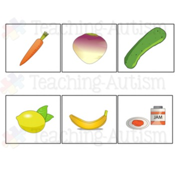 Food - Word Picture Matching