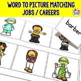 Jobs and Occupations Matching Word to Picture