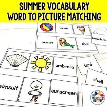 Summer Word to Picture Matching