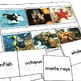Ocean Animals Word to Picture Matching