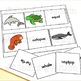 Sea Animals - Word Picture Matching