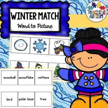 Word Picture Matching - Winter