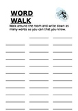 Word walk