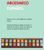 Word wall ABCEDARIO ESPAÑOL