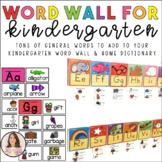 Word wall words! General words for a complete word wall.