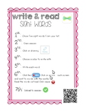 Word work (Seesaw)