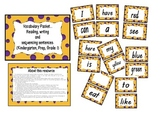 Word work, sight words, sentence sorting packet using dolch