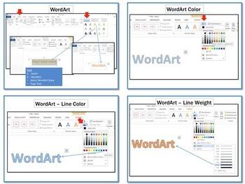 WordArt Microsoft Word 2013 Lesson