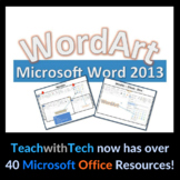 WordArt Microsoft Word 2013 Lesson