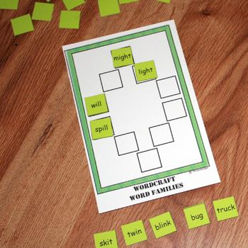 WordCraft Word Families