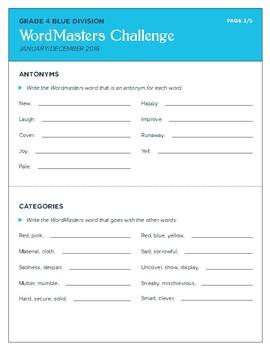 WordMasters Practice Pack