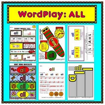 WordPlay: ALL (Sight Word activities)