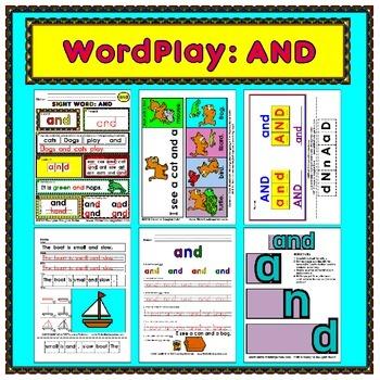 WordPlay: AND (Sight Word activities)
