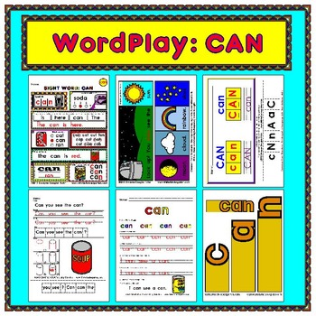 WordPlay: CAN (Sight Word activities)