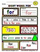 WordPlay: FOR (Sight Word activities)