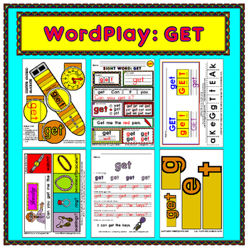 WordPlay: GET (Sight Word activities)