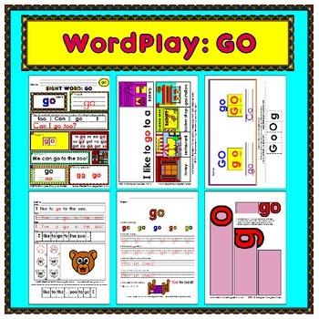 WordPlay: GO (Sight Word activities)