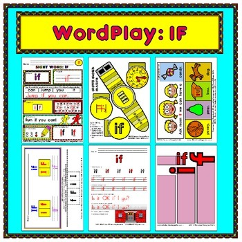 WordPlay: IF (Sight Word activities)