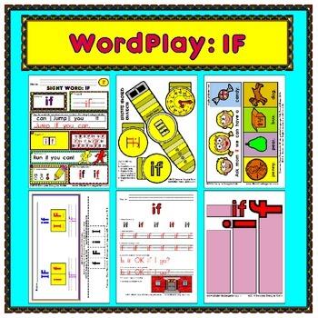 WordPlay: IF (Sight Word activities)