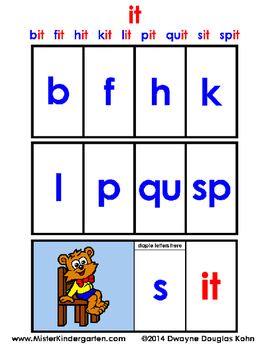 WordPlay: IT (Sight Word activities)