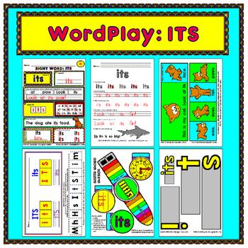WordPlay: ITS (Sight Word activities)