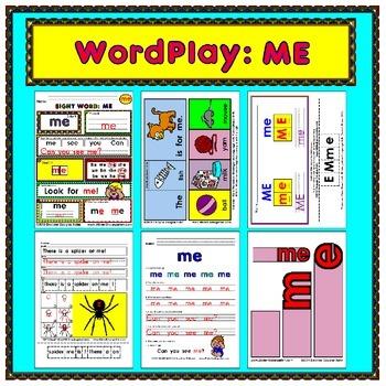 WordPlay: ME (Sight Word activities)