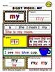 WordPlay: MY (Sight Word activities)