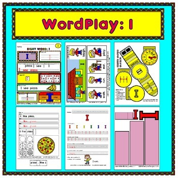 WordPlay: I (Sight Word activities)