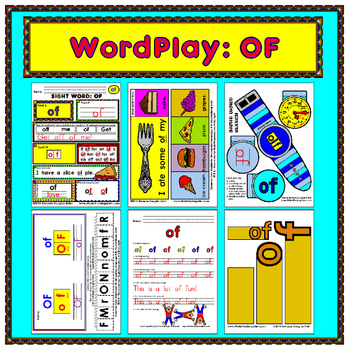 WordPlay: OF (Sight Word activities)
