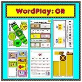 WordPlay: OR (Sight Word activities)