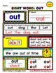 WordPlay: OUT (Sight Word activities)