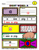 WordPlay Red Level MEGA BUNDLE (Sight Word activities)