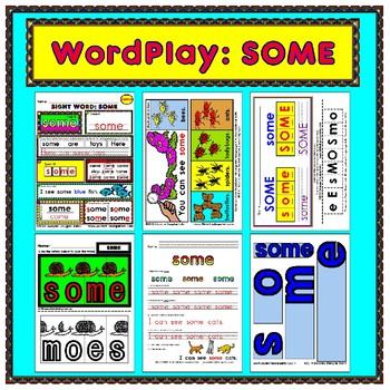 WordPlay: SOME (Sight Word activities)