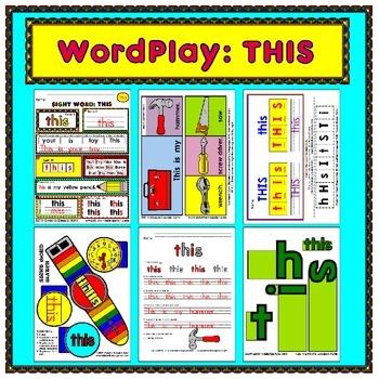 WordPlay: THIS (Sight Word activities)