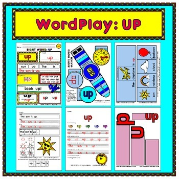 WordPlay: UP (Sight Word activities)