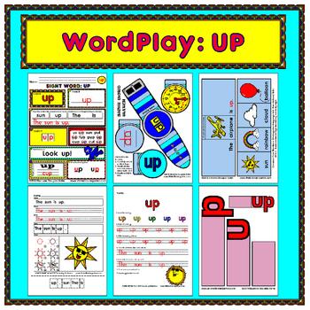 WordPlay: UP (Sight Word activities)