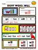WordPlay: WILL (Sight Word activities)