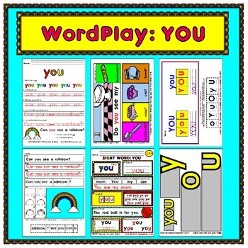 WordPlay: YOU (Sight Word activities)