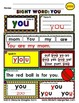 WordPlay: YOU (Sight Word activities)