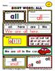 WordPlay Yellow Level MEGA BUNDLE (Sight Word activities)