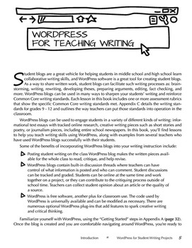 WordPress for Student Writing Projects (print edition)