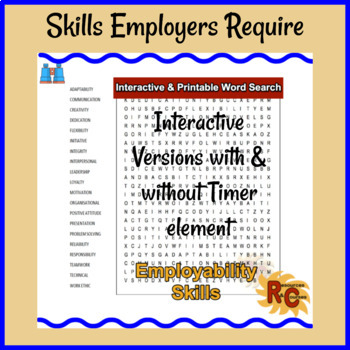 WordSearch - Employability Skills Interactive