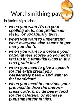 WordSmithing -way beyond 'working with words' for true vocabulary development!