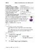 Word/Story Problem Format Gr 4
